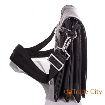 Мужская сумка-почтальонка из качественного кожзаменителя ETERNO (ЭТЭРНО)