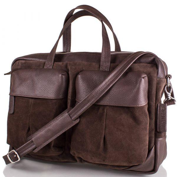 Мужская замшевая сумка VALENTA (BM70243810)