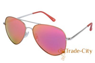 Мужские очки с поляризационными зеркальными линзами POLAROID (P4139-R4A58OZ)