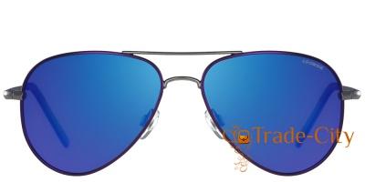 Мужские очки с поляризационными зеркальными линзами POLAROID (ПОЛАРОИД)