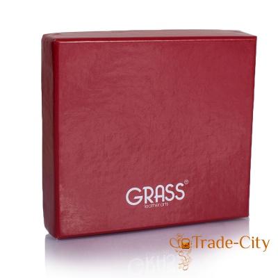Мужское кожаное портмоне GRASS (ГРАСС)