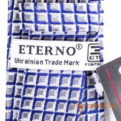 Мужской шелковый галстук ETERNO (ETEG678)