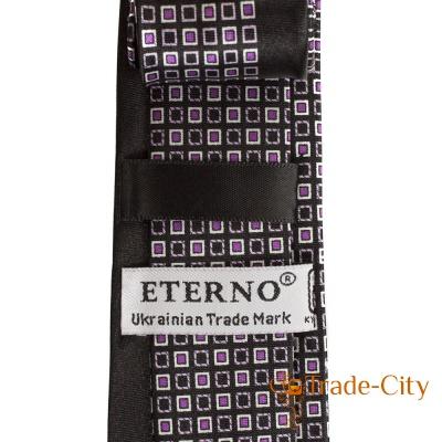 Мужской шелковый галстук ETERNO (ЭТЕРНО) EG620