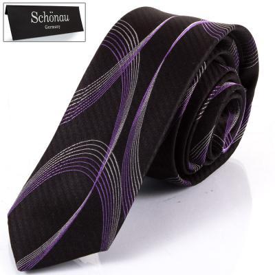 Мужской шелковый галстук SCHONAU & HOUCKEN (FARESHY-09)