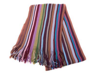 Мужской шерстяной шарф в стиле Paul Smith BAOSIDI (172*25 см)