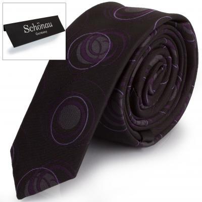 Мужской узкий галстук SCHONAU & HOUCKEN (FAREPY-20)