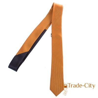 Мужской узкий шелковый галстук ETERNO