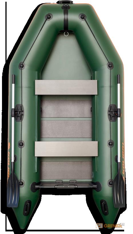Надувная лодка Kolibri КМ-300 с пайолом слань-книжка
