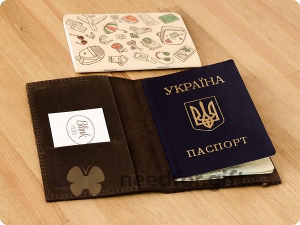 Обложка для паспорта «1.0 Орех» БланкНот