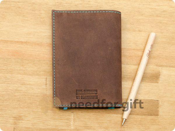 Обложка для паспорта БланкНот из натуральной кожи