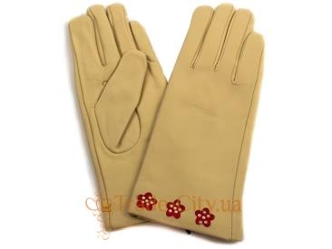 Перчатки женские кожаные ETERNO (ЭТЕРНО)