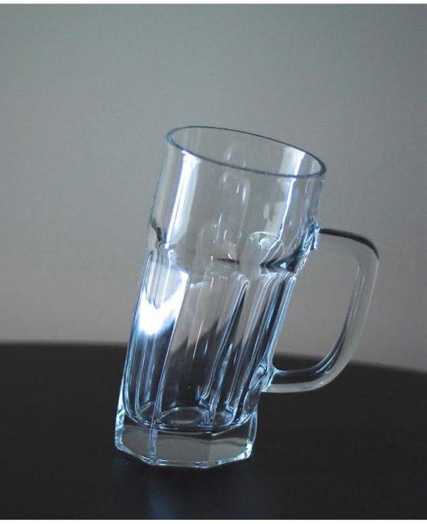 «Пьяный» пивной бокал