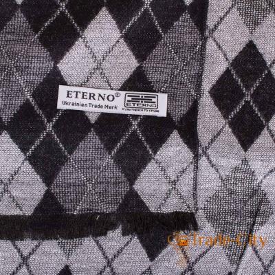 Мужской шерстяной шарф ETERNO (двухсторонний)