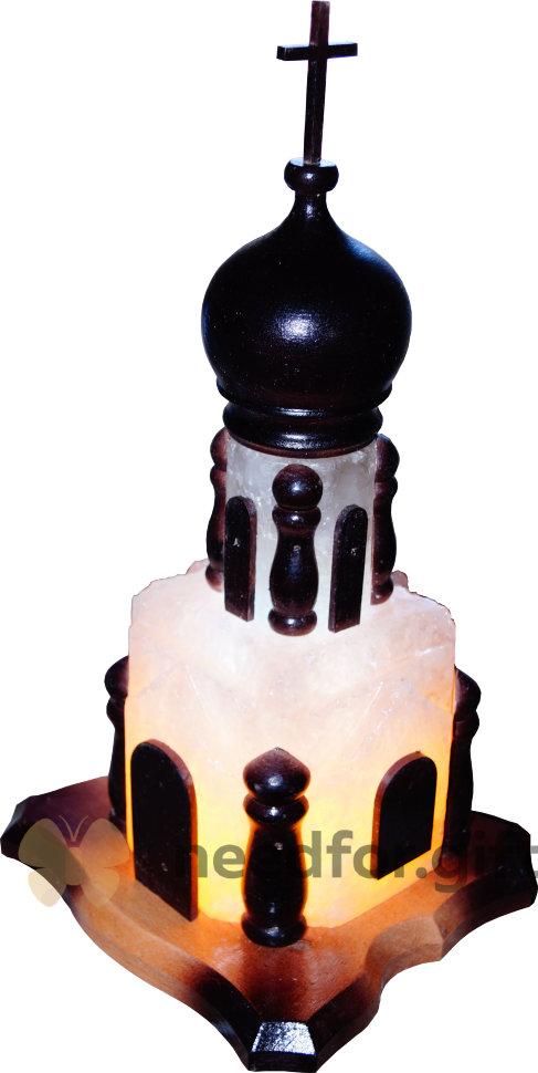 Соляной светильник «Церковь»