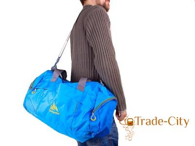Сумка спортивно-дорожная ONEPOLAR (blue)