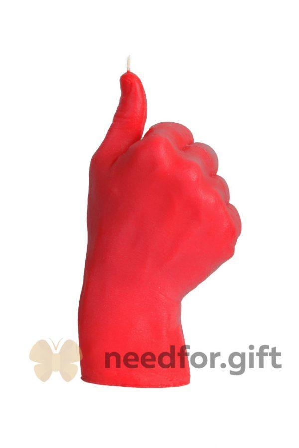 Свеча «Good» красная
