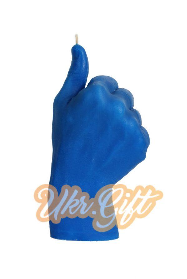 Свеча «Good» синяя