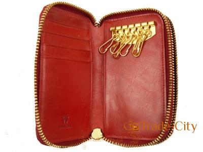 Женская ключница-кошелек WANLIMA (натуральная кожа)