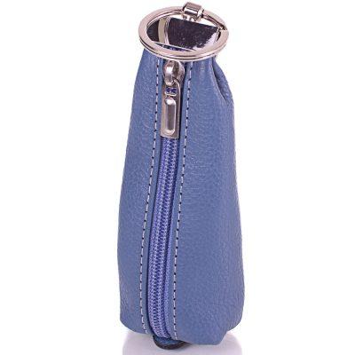Женская кожаная ключница DESISAN (синий)