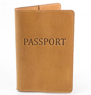 Женская кожаная обложка для паспорта DNK LEATHER