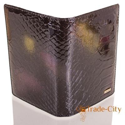 Женская кожаная обложка для паспорта PRATERO (MS17656)