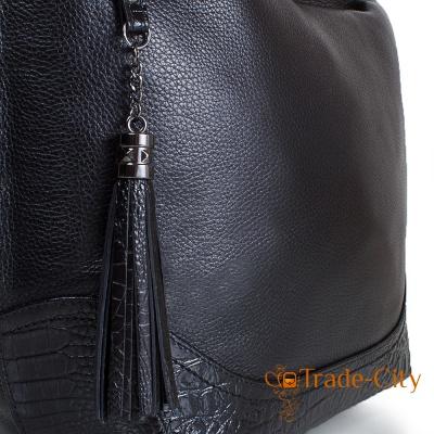 Женская кожаная сумка DESISAN (ДЕСИСАН) SHI2893-011-2FL