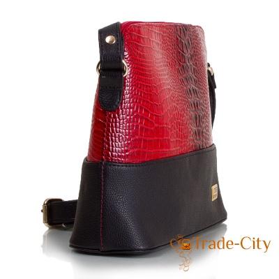 Женская мини-сумка из качественного кожзаменителя ETERNO (ETMS35286-1)