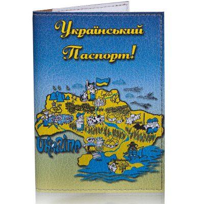 Женская обложка для паспорта PASSPORTY из экокожи