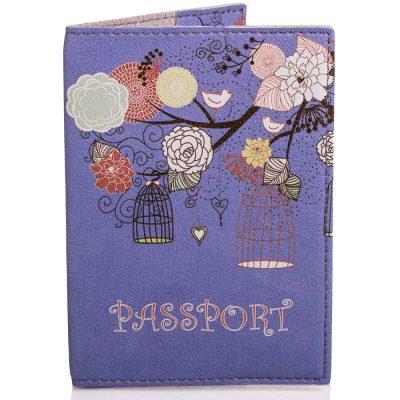 Женская обложка для паспорта PASSPORTY (ПАСПОРТУ) из экокожи