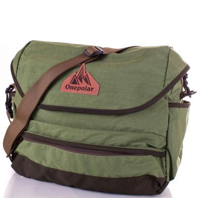 Женская спортивная сумка ONEPOLAR (green)