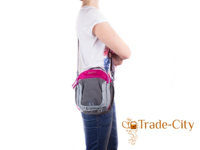 Женская сумка через плечо ONEPOLAR (rose)