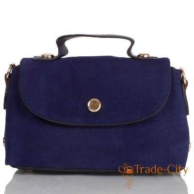Женская сумка из качественного кожзаменителя и натуральной замши ANNA&LI (АННА И ЛИ)