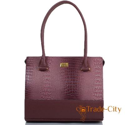 Женская сумка из качественного кожзаменителя ETERNO (коричневый)