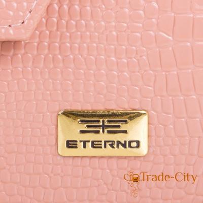 Женская сумка из качественного кожзаменителя ETERNO (Розовый)