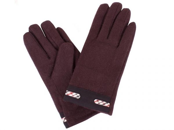 Женские шерстяные перчатки ETERNO