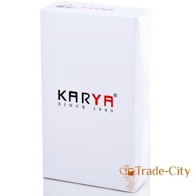 Женский кошелек KARYA из натуральной лаковой кожи