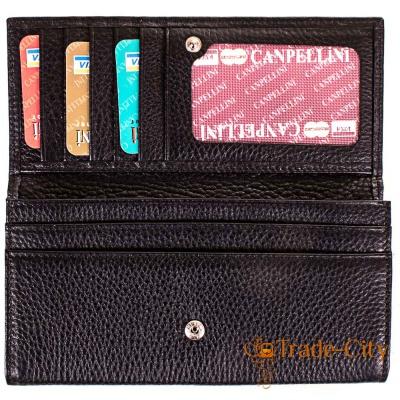 Женский кожаный кошелек CANPELLINI ( SHI2035-2FL)