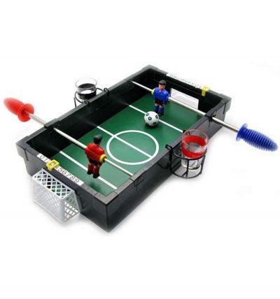 Алкогольная игра «Футбол с рюмками»