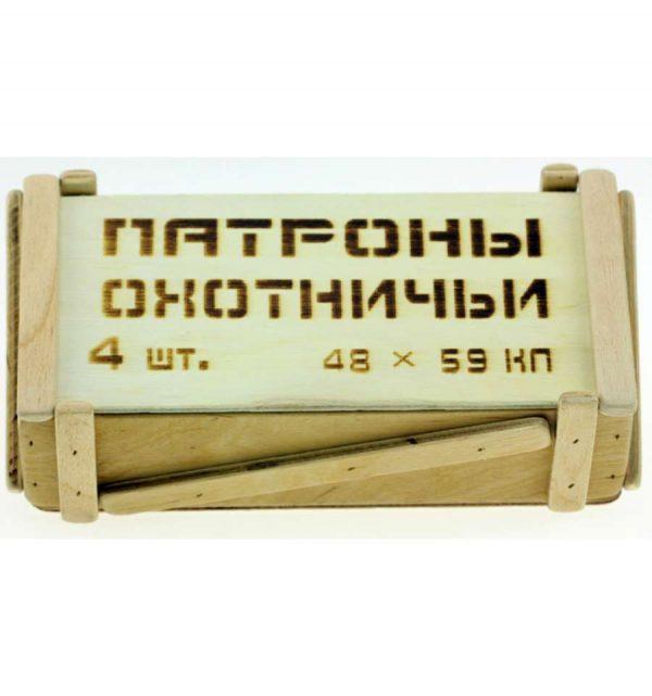 Мини-бар «Охотничьи патроны» 4 шт.