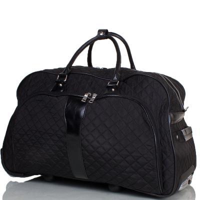 Большая дорожная сумка на 2-х колесах ETERNO (black)