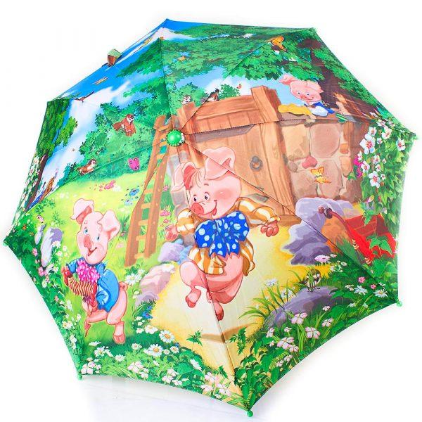 Детский облегченный зонт-трость ZEST (полуавтомат)