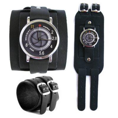 Эксклюзивные наручные часы AndyWatch «Объектив»