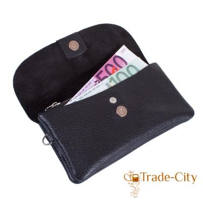 Клатч-кошелек женский кожаный DESISAN (SHI213-011-2FL)