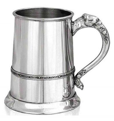 Кружка для пива (танкард) с кельтским львом