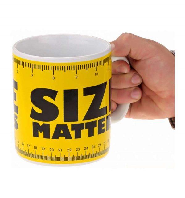 Кружка - гигант «Size matters»