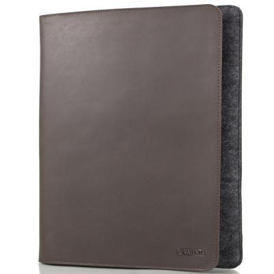 Мужская кожаная папка-органайзер для документов и планшета VALENTA (VOY159610-10)