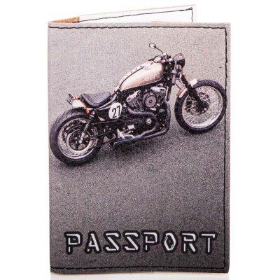 Мужская обложка для паспорта PASSPORTY (KRIV076)