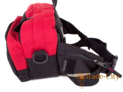 Мужская сумка через плечо или на пояс ONEPOLAR (red)