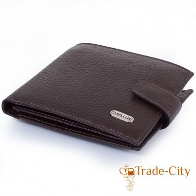 Мужской кожаный кошелек CANPELLINI (SHI223-14)
