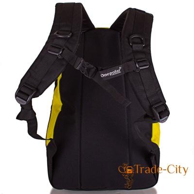 Мужской рюкзак ONEPOLAR (yellow)